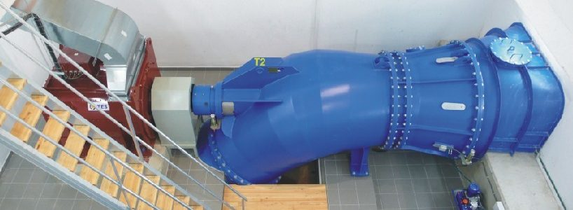 S type Kaplan Turbine