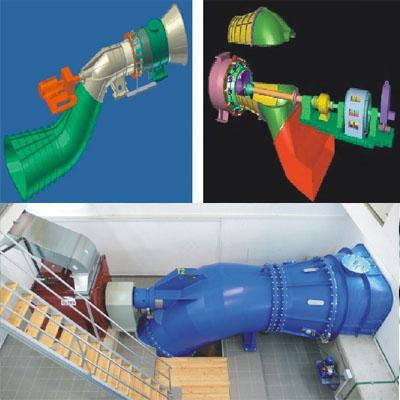 S type Kaplan Turbine